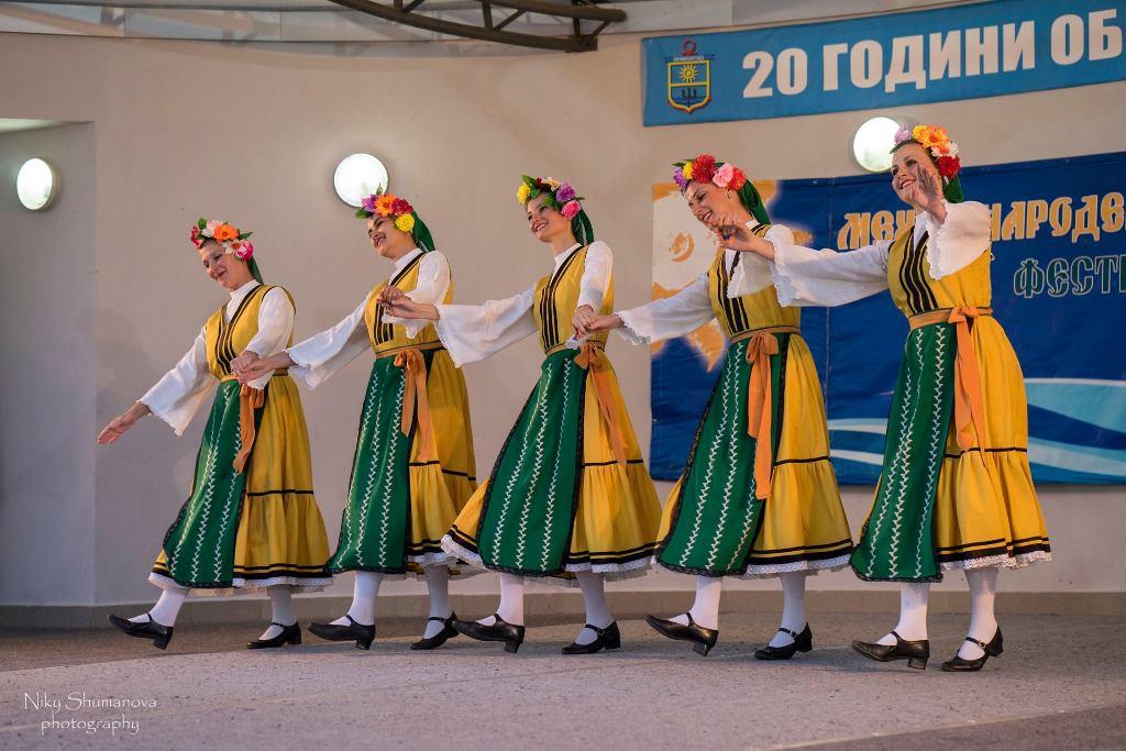 Международен младежки фолклорен фестивал, Приморско